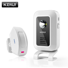 KERUI 433MHz Wireless Curtain PIR Motion KR M7 Wireless Strobe Light Welcome