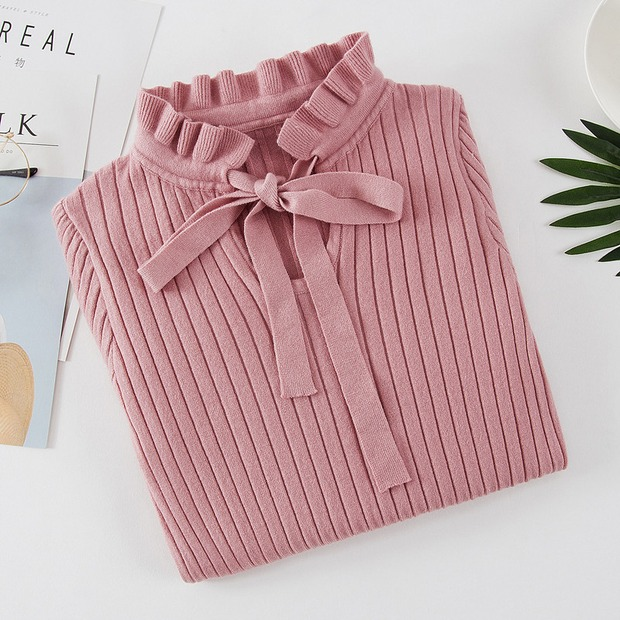 19 new fashion Slim Knitted Sweater Female Long Sleeve Autumn Sweater Womens Pullovers Sweaters Winter Sweater Women 9