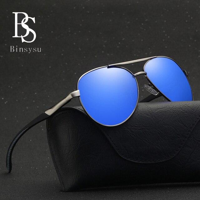 57ddb29f2c Best Pilot Glasses Polarized Aviation Sunglasses Men Women High Quality  Alloy Frame Polaroid Lenses Rubber Tips D8075