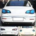 De coches de Estilo de Punto de Inflamación de 30 CM X 100 CM Auto Car Pegatinas de Humo Luz de Niebla Trasera de la Linterna Del Vinilo del Tinte de Películas Accesorios del coche