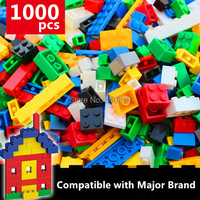 NEW 1000pcs Basic Bricks Bulk Building Blocks Parts DIY Toys Compatible with legoed