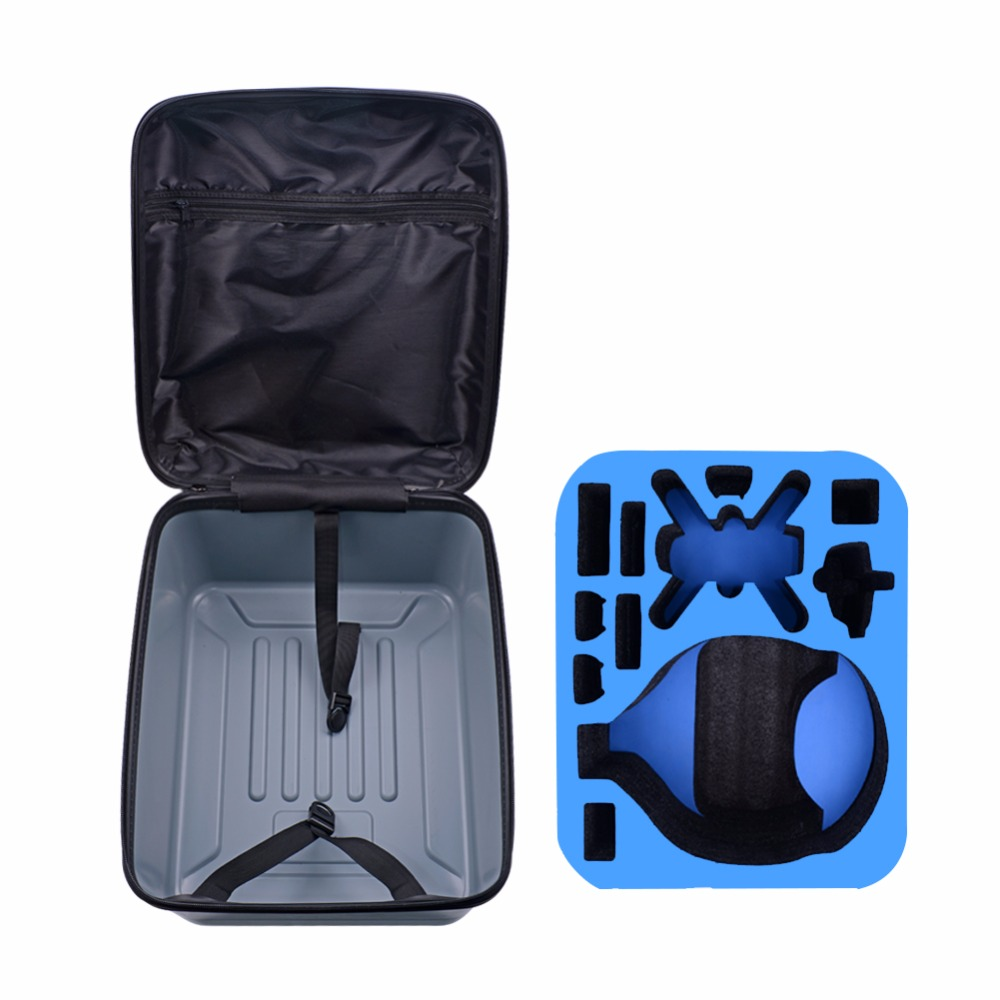 DJI Shell Hard Backpack for DJI Spark Case Shell Bag and Spark-VR Glasses Case Hard Shell Backpack for DJI Spark Drone Backpack spark storage bag portable carrying case storage box for spark drone accessories can put remote control battery and other parts