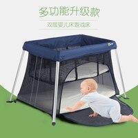 2017 coolbaby новый продукт ультра легкая детская игра раскладушка детская дорожная кровать Детская кроватка Колыбель