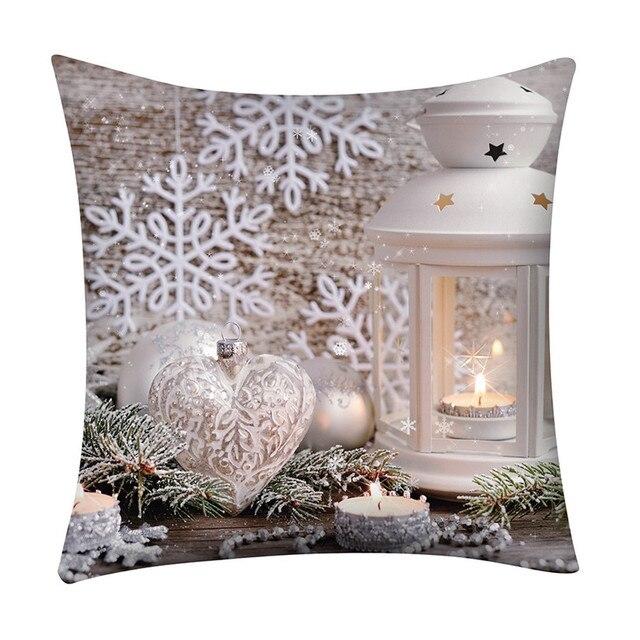 3D Di Natale Fodere per Cuscini Decorativa Federa Per La Casa Divano Letto Caso