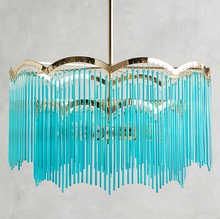 Gold American Style Retro Chandeliers LED Crystal Lighting For Living Room Bedroom Hall Hotel Restaurant Dining Room Fashion