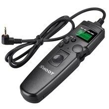 Atire Obturador LCD Temporizador Intervalometer Obturador Remoto Cabo para 650D 450D 550D 1200D AP-TR1C T4i Câmera 760D 750D