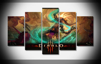 P2974 Diablo 3 Witch doctor Poster Framed Gallery wrap art print home wall decor wall picture Already to hang digital print