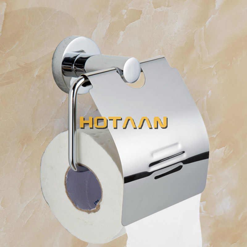 Darmowa wysyłka, okrągły 304 # ze stali nierdzewnej akcesoria łazienkowe zestaw, łazienka mydelniczka, wieszak ścienny, uchwyt na papier, wieszak na ręczniki, 5 sztuk/zestaw, YT10900