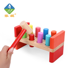 Montessori Wooden Block Montessori Educational Toy Noise Maker Children Wooden Kids Toys