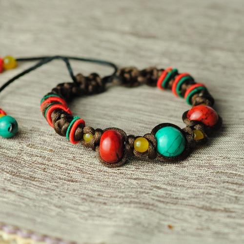 how to make a tibetan knot bracelet
