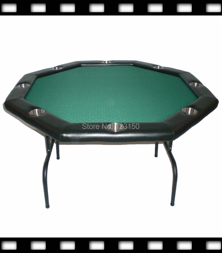 PT-002 Poker table with iron feet Diameter 120cm, with high speed cloth