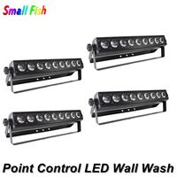 9X10W RGBW 4IN1 LED Bar Wall Wash Light DMX512 Washer /Flood Light DJ /Bar /Party /Show /Stage Light Point Control Dj Lighting
