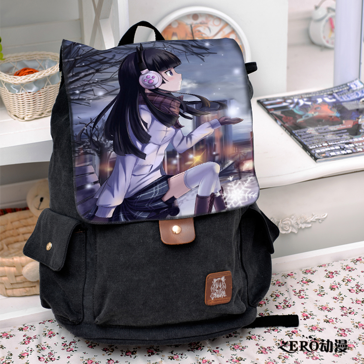 Anime Cosplay Gokou Ruri Backpack Fashion casual large capacity Bags For Men Women School Bags mlhj fashion female genuine leather small shoulder bag women clutch bag luxury women messenger cross body crossbody bag woman