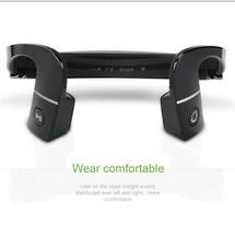 Nueva llegada s. wear lf-18 cinta para el cuello de auriculares bluetooth wireless headset stereo 4.1 bone conducción nfc manos libres auricular libre lf18