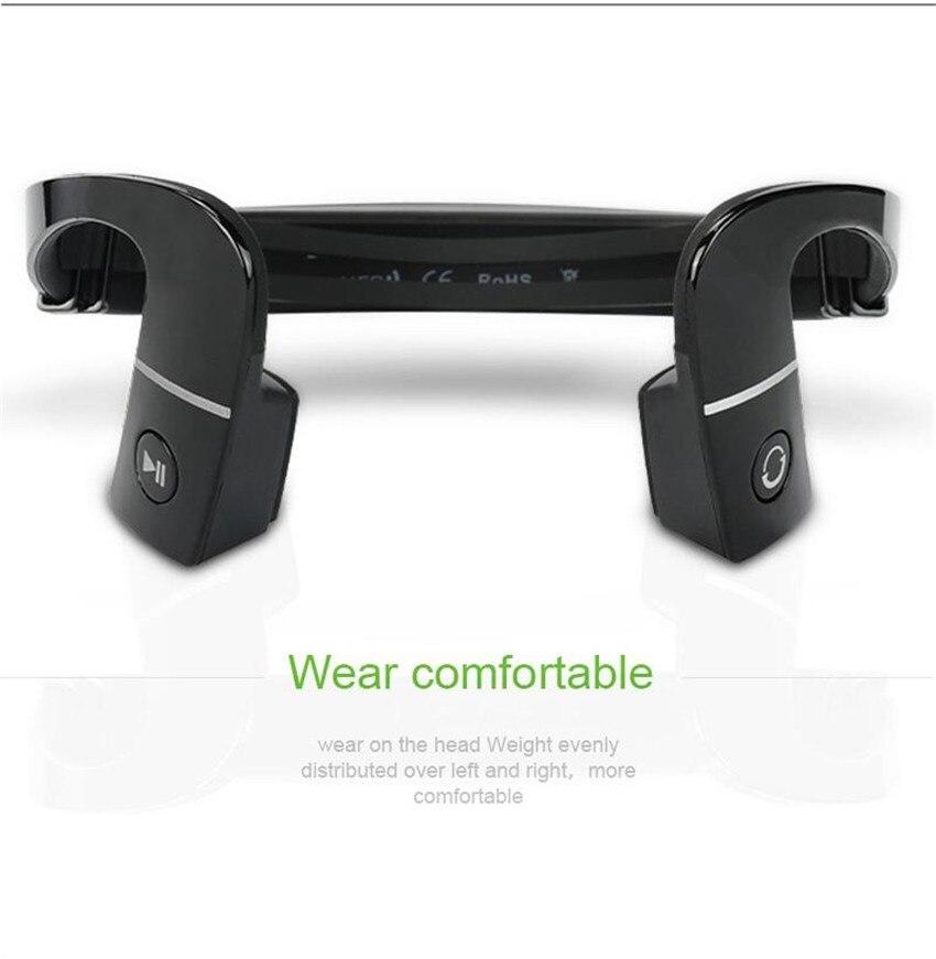 Nova chegada s. wear lf-18 pescoço cinta-fone de ouvido sem fio bluetooth 4.1 stereo headset bone condução nfc mãos-fone de ouvido livre lf18