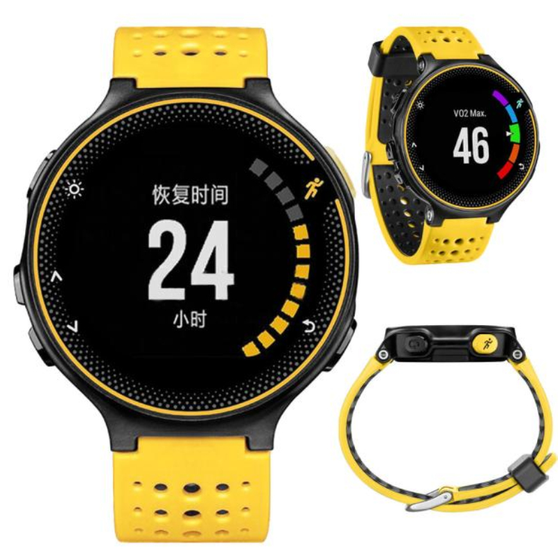 Excellent Quality Soft Silicone Strap Replacement Wrist Watch Band for Garmin Forerunner 230/235/630 2016 NEW