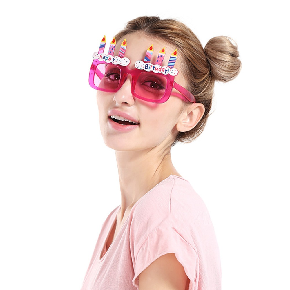 Party Glasses 3 Designs Fancy Dress costume Parties Christmas Novelty Gift