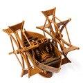 Модели корабля Комплекты Масштаб Модели Лодка Модель 3D Diy ребенка игрушки Поезд Хобби Модель Лодка 3d Лазерная Резка Да Винчи рукопись
