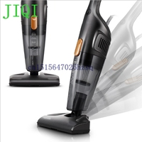 JIQI Mini Household Rod Vacuum Cleaner Multifunctional 3 Brushes Portable Dust Collector