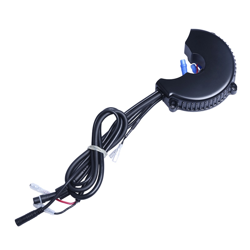 Bafang BBS02B 48V 750W 25A 9T Upgraded Motor Controller 3077 Gear Sensor 6V Light Cable For