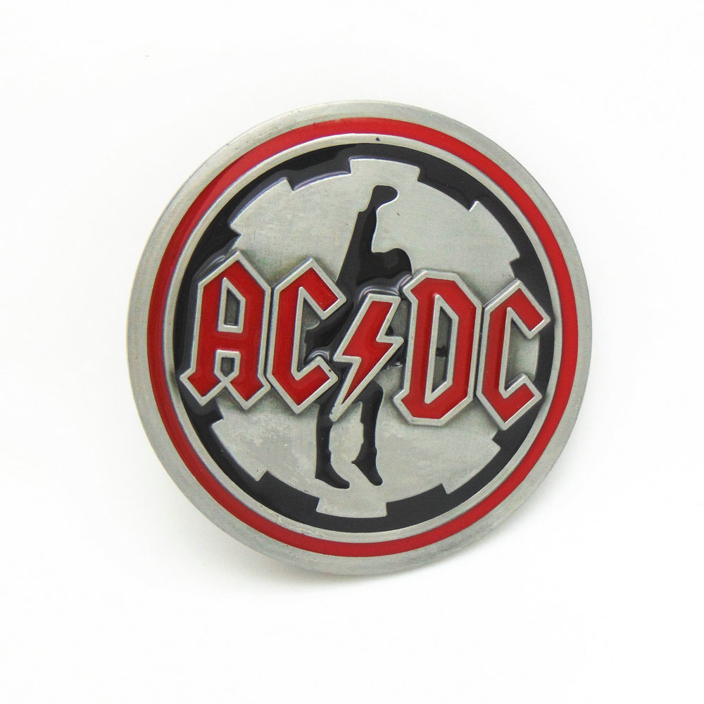 The Cowboys Of The West Belt Buckle Music Buckle ACDC Fit 4.0 Belt