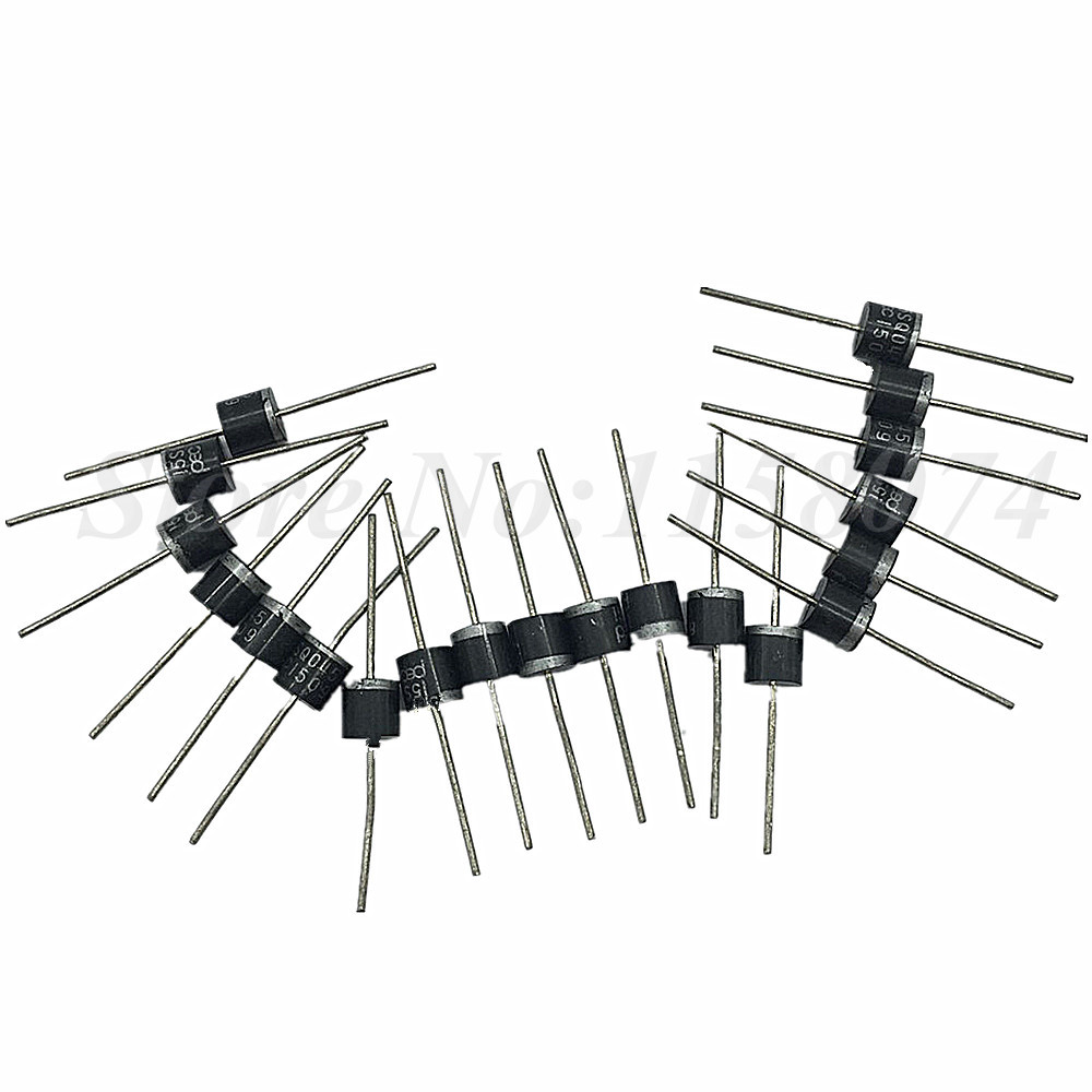 20pcs 15amp 15a 45v Bypass Blocking Diode Diy Solar Cells