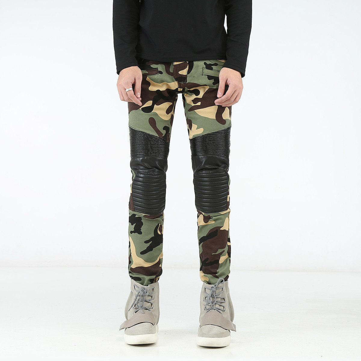 Popular Men Skinny Camouflage Pants jeans-Buy Cheap Men Skinny ...