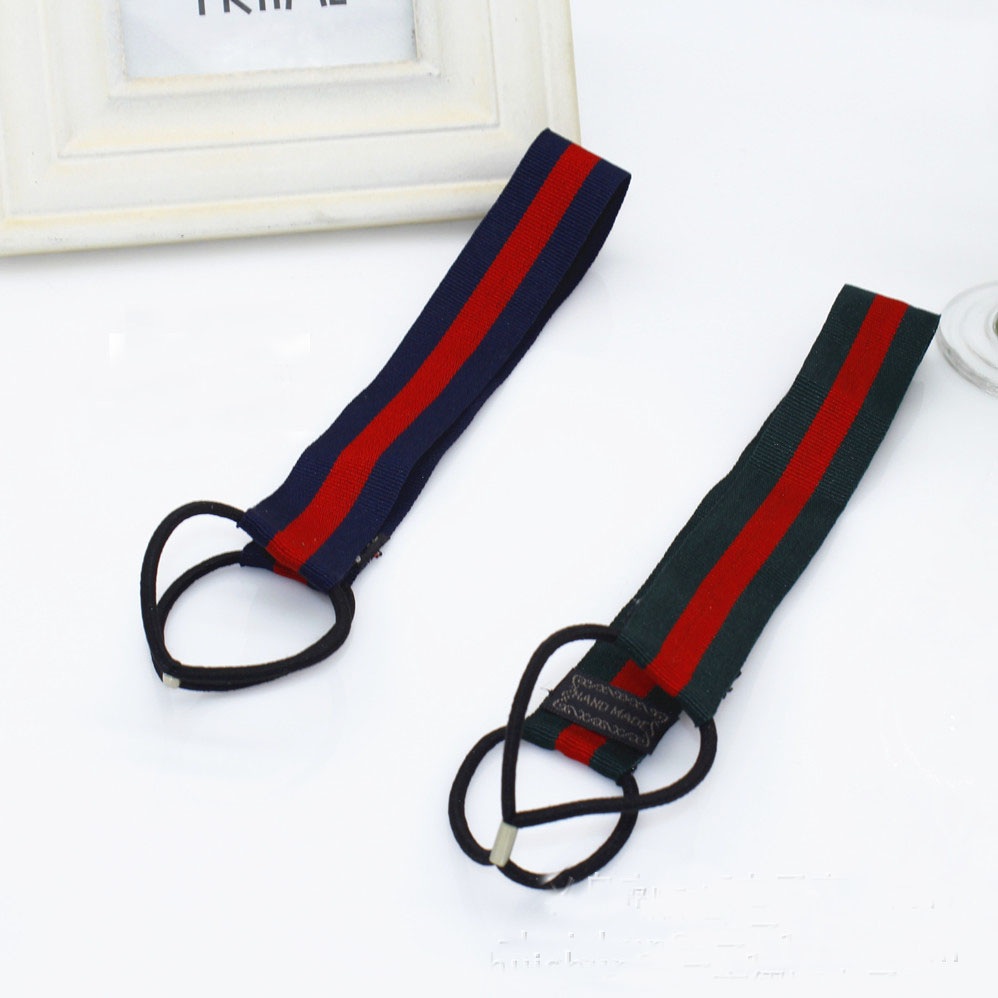 2pcs Elastic Sports Stripe Ribbon Headband Women Men Headband Fashion Hairband Unisex Headband Fitting Hair Jewelry