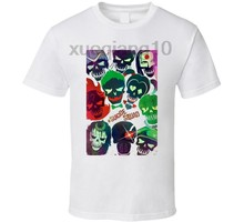 1e0f22c7 This Suicide Squad Movie Super Hero Villain Comic Book Cast Poster T Shirt (China)