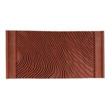 Имитация украшения для дома инструмент для рисования Натяжной ролик искусство прочный рисунок древесины практичная резиновая текстура стены DIY щетка