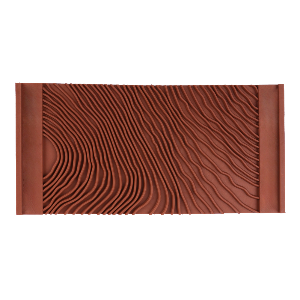 Imitation Home Decoration Painting Tool Graining Roller Art Durable Wood Grain Pattern Practical Rubber Wall Texture DIY Brush
