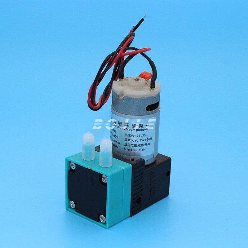 Bojie impresora al aire libre impresora de inyección de tinta solvente bomba de tinta grande 24 V 4.4 W