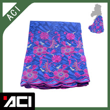 ACI-Latest Nigerian Lace Fabric 6 Yards/Piece Embroidered African Wax Print Cloth Ankara Lace For Wedding гуашь action aci agp 6 e 6 цветов aci agp 6 e