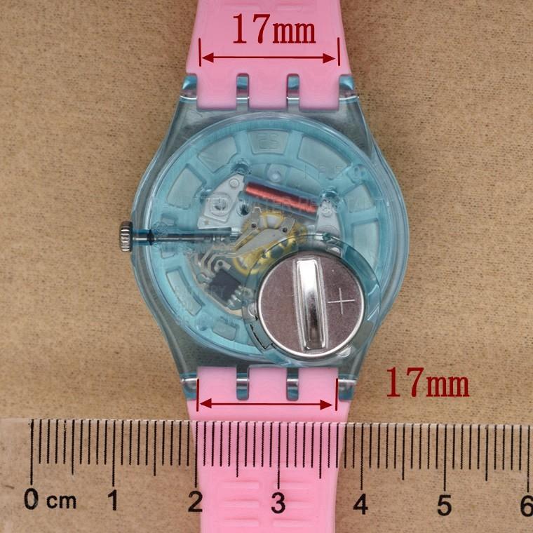 смотреть аксессуары для swatch ремень пряжка образец силиконовые часы группа 17 мм 19 мм каучуковый ремешок