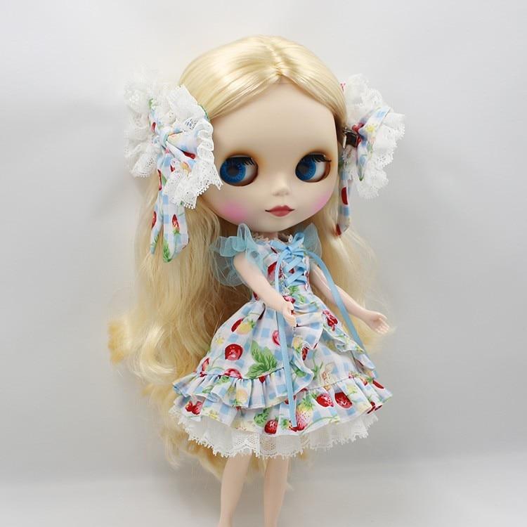 Neo Blythe Doll Butterfly Skirt Dress 9