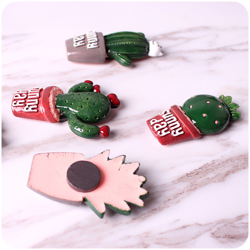 2-pcs-Cute-Cactus-Fridge-Magnets-Whiteboard-Sticker-Refrigerator-Magnets-Kids-Gifts-Home-Decoration-E (4)