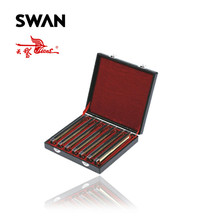 Swan SW24H-7TJ Gold Color 24 Holes 7 Keys Harmonica Set High End Performance Harmonicas In Gift Box Musical Instrument Harps