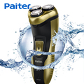 Paiter Electric Shaver for Men Washable Shaving Razors Rotary Blades with Pop-up Trimmer Rechargeable Cordless & Corded