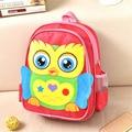 2016 New kindergarten school bags cartoon backpacks bags kawaii nylon animal design owl backpack travel bags boys girls backpack