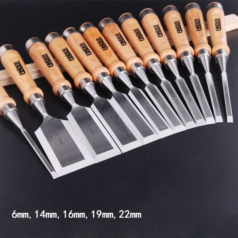 5pcs/set 6,14,16,19,22mm Carving Chisel Carpenter Tools Flat Woodworking Chisel Set Professional Wood Carving Knife Hand Tools 3pcs wood chisel set carving knife 12 19 25mm for carving wood carpenter hand woodworking tools