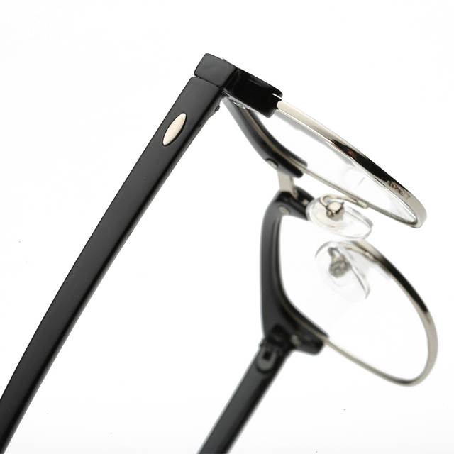 461a01f5363fd Estilo Vintage Limpar Lens armações de óculos Sem Aro Semi Óculos Simples  Retro Homens Mulheres Óculos
