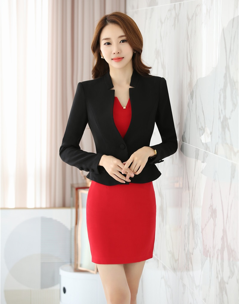 New Arrival Formal Dress Suits For Women Business Suits With Blazer