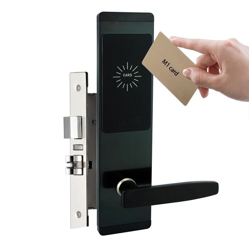 Portable M1 card front door locks swipe card door entry systems for apartments/office etc.Portable M1 card front door locks swipe card door entry systems for apartments/office etc.