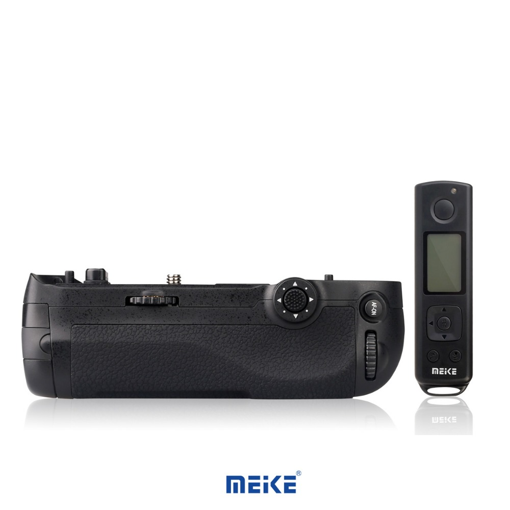New Battery grip MEKE MK-D500 Pro Built-in 2.4GHZ FSK Remote Control Shooting for Nikon D500 Camera meike mk d500 pro vertical battery grip built in 2 4ghz fsk remote control shooting for nikon d500 camera as mb d17