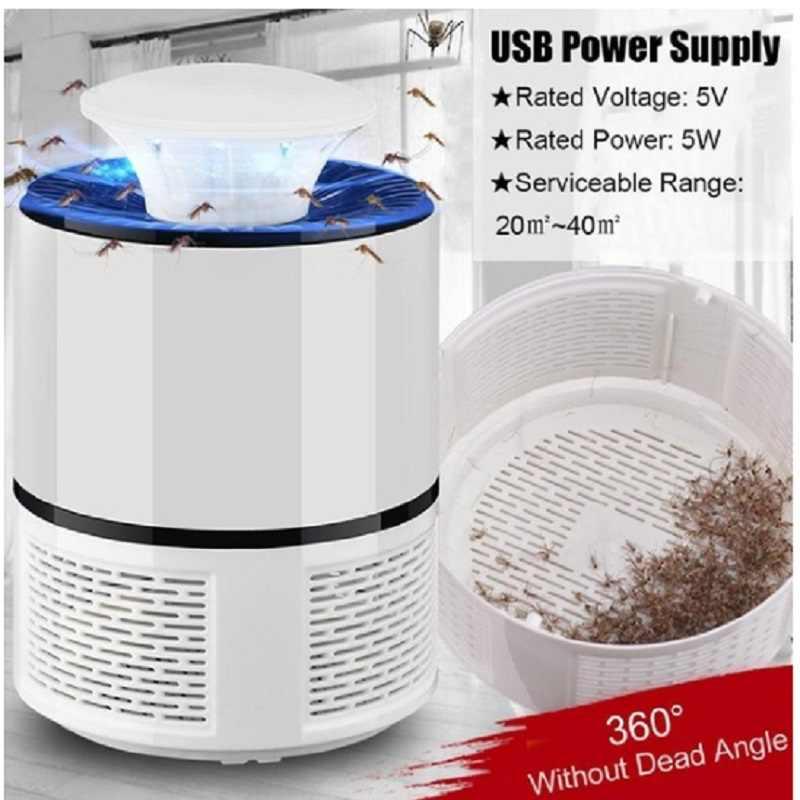 Chargeur USB électronique lampe Anti moustique tueur Anti-moustique mouche inhalateur lumière insecte