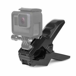 Image 3 - SHOOT Gooseneck Arm Neck Tripod Mount Adjustable Flexible Clamp Clip for GoPro 9 8 7 6 5 Black Sjcam Xiaomi Yi Camera Accessory