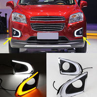 1 Pair Guide Daytime Running Lights DRL Turns Fit For Chevrolet Trax 2014 2016
