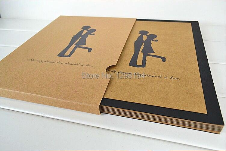 la nave libre pulgadas diy foto album scrapbook papel hechos a mano lbum de fotos