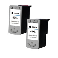 Black Ink Cartridge PG 40 PG40 40 CL41 41 Compatible For Canon PIXMA MP145 MP150 IP1900 Printer Replacement Inkjet Cartridges