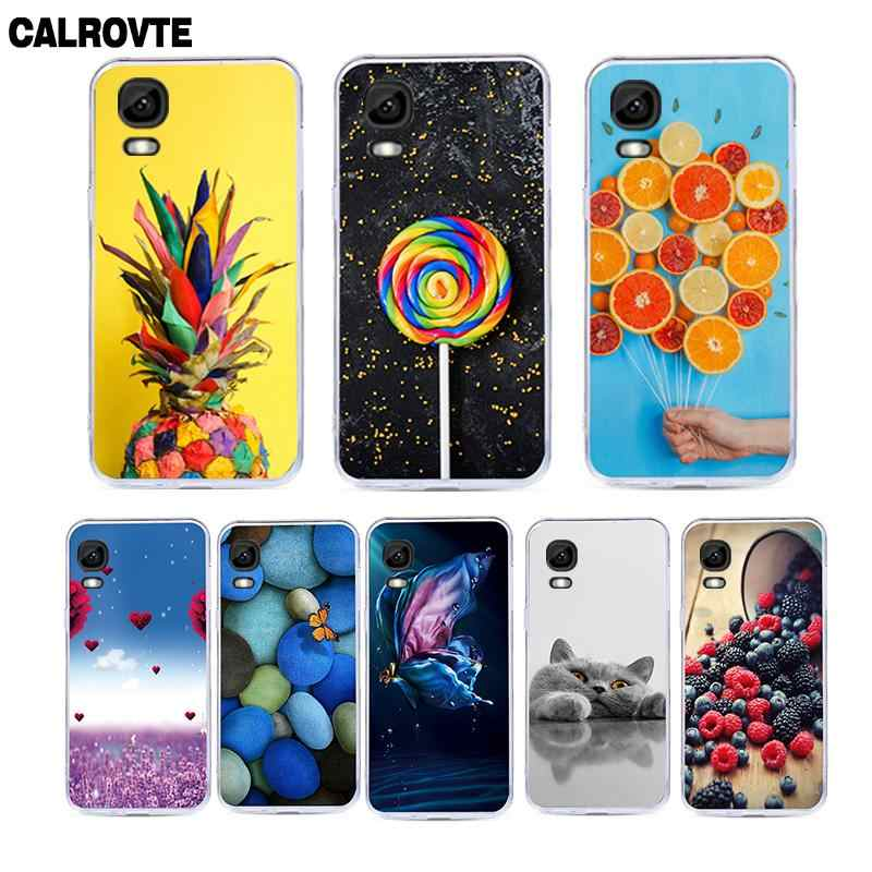 CALROVTE Phone Case For Highscreen Easy L Pro Pattern Soft TPU Silicon Protective Back Cover For Highscreen Easy L Pro Cases